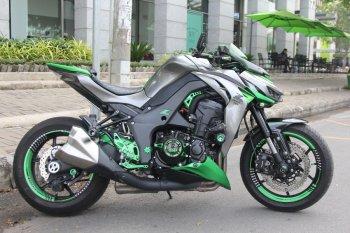 Chiêu làm đẹp Kawasaki Z1000 nổi bật chơi Tết
