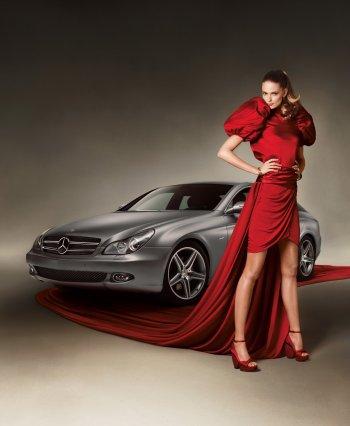 """""""Mối lương duyên"""" thế kỷ giữa xe hơi và thời trang"""