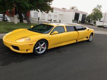 "Ferrari 360 Stretch Limo ""ế"" nặng trên eBay"