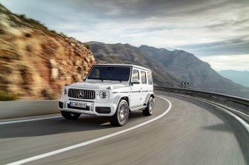 """Mercedes-AMG G63 2019 """"hiện nguyên hình"""" trước thiên hạ"""