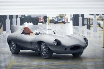 Xe đua huyền thoại Jaguar D-Type chuẩn bị tái xuất