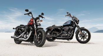 Harley-Davidson vén màn Forty-Eight Special và Iron 1200 2018