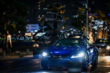 """Lexus LC500 xuất hiện """"ảo diệu"""" trong phim """"Black Panther"""""""