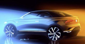 Volkswagen sẽ sản xuất T-Roc mui trần vào năm 2020