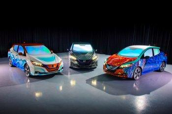 """Nissan Leaf độ theo phong cách """"Nếp gấp thời gian"""""""