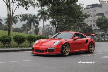 Cường Đô La cầm lái Porsche GT3 RS tham dự Car & Passion 2018