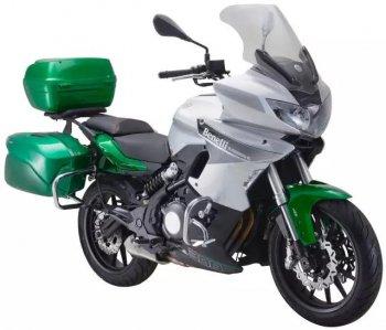 Xế phượt Benelli 302 Tourer 2018 cạnh tranh Kawasaki Versys X300