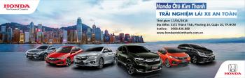 Cùng Honda Ô Tô Kim Thanh trải nghiệm kỹ thuật lái xe ô tô an toàn