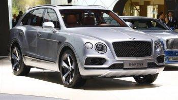 Bentley Bentayga sử dụng chung động cơ với Porsche Cayenne Turbo