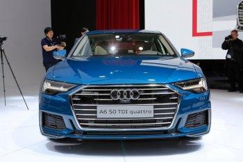 Cận cảnh Audi A6 mới tại triển lãm Geneva Motor Show 2018