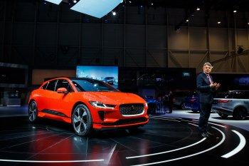SUV chạy điện Jaguar I-Pace lần đầu tiên xuất hiện trước công chúng