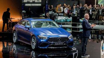 Loạt xe Mercedes-AMG GT 4 cửa đổ bộ Geneva Motor Show 2018