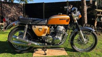 Nguyên mẫu Honda CB750 1969 phá vỡ kỷ lục đấu giá