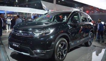 Honda ra mắt CR-V phiên bản diesel dành riêng cho Ấn Độ