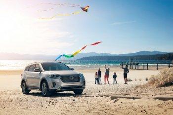 Hyundai triệu hồi Santa Fe 2018 do nguy cơ rụng vô lăng