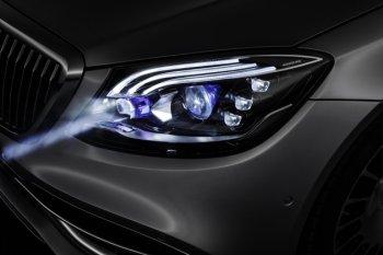 Mercedes-Benz trang bị cho dòng Maybach S-Class 2019 hệ thống đèn pha thông minh mới
