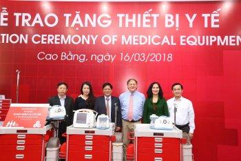 Toyota Việt Nam hỗ trợ y tế cho tỉnh Cao Bằng