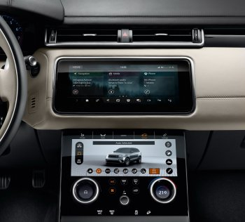 Xe Jaguar chuẩn bị sở hữu hệ thống giải trí BlackBerry