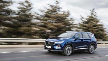 """Hàng """"hot"""" Hyundai Santa Fe 2019 sắp ra mắt thị trường Mỹ"""