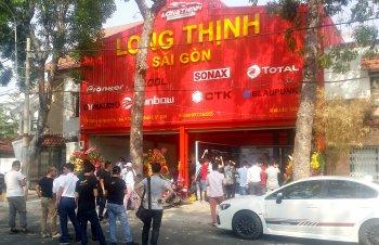 Garage chăm sóc xe Long Thịnh khai trương tại Sài Gòn