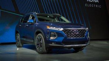 """""""Mục sở thị"""" Hyundai Santa Fe 2019 ra mắt thị trường Mỹ"""