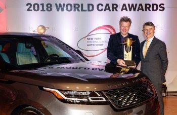 Range Rover Velar giành giải Xe đẹp nhất năm 2018