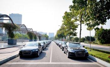 Audi Việt Nam huy động 70 xe phục vụ hội nghị thượng đỉnh tại Hà Nội