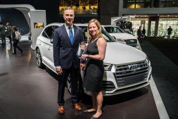 Hai xế sang nhà Audi nhận giải Xe tốt nhất cho gia đình năm 2018