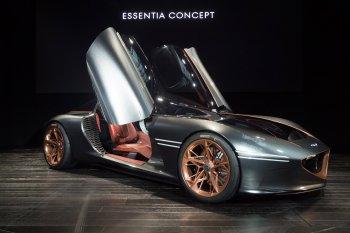 """Genesis Essentia: """"Tầm"""" mới của ôtô Hàn"""