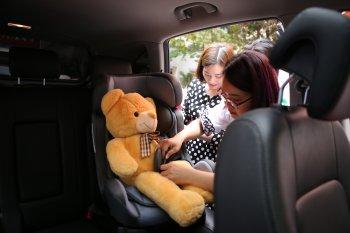 GM Việt Nam nhấn mạnh tầm quan trọng việc thắt dây an toàn với trẻ em