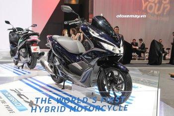 Bangkok Motor Show 2018: Honda PCX Hybrid sắp chính thức trình làng