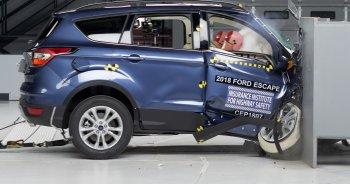 """Ford Escape 2018 bị đánh giá """"kém"""" về độ an toàn"""