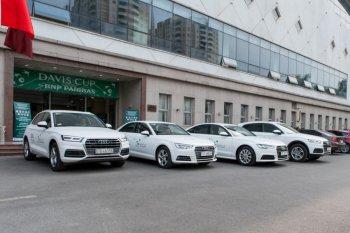Audi cấp xe xịn cho giải quần vợt Davis Cup 2018 ở Hà Nội