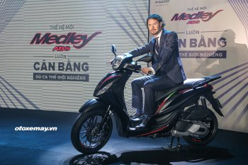Piaggio Medley ABS 2018 có giá cao nhất 87,9 triệu đồng