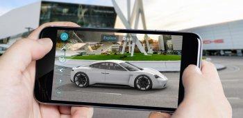 Trải nghiệm Porsche Mission E ngay từ điện thoại thông minh