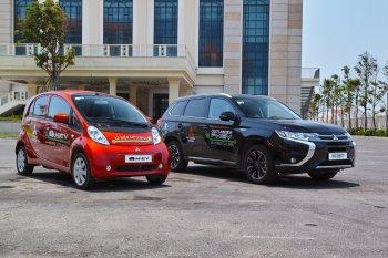 Mitsubishi tặng ôtô điện Outlander PHEV và i-MiEV cho Đà Nẵng