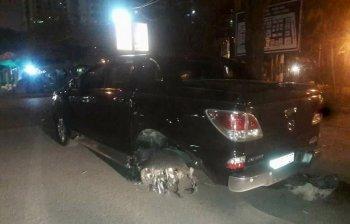 Vụ xe bán tải kéo lê xe máy: Tài xế bị khởi tố tội danh giết người