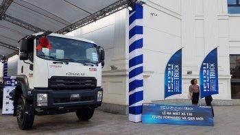 Xe tải Isuzu động cơ Blue Power tiến quân thị trường miền Bắc