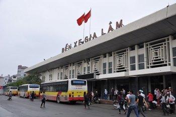 4 bến xe lớn nhất Hà Nội sắp thành bãi đậu xe