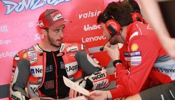 Dovizioso từ chối gia hạn hợp đồng cùng Ducati