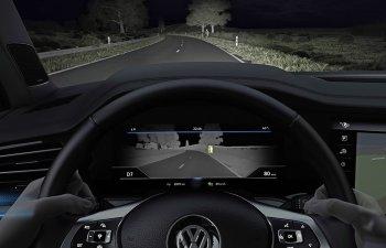 Hệ thống nhìn đêm trên Volkswagen Touareg có gì đặc biệt