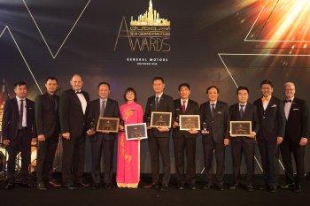 5 đại lý của General Motors Việt Nam được vinh danh tại giải thương khu vực