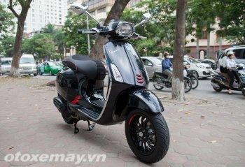 Ảnh thực tế Vespa Sprint độ Carbon tại Việt Nam