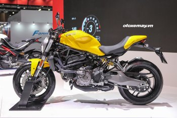 Cận cảnh Ducati Monster 821 2018 giá 399,9 triệu tại Việt Nam