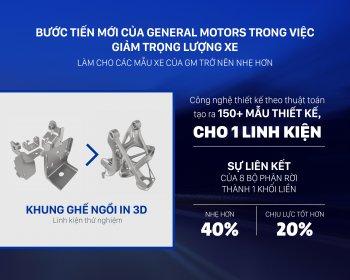 General Motors ứng dụng công nghệ in 3D để sản xuất linh kiện