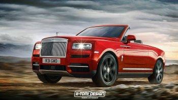Rolls-Royce Cullinan trông sẽ ra sao nếu có thêm một loạt biến thể?
