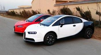 """Bugatti Chiron """"nhái"""" cho bình dân với giá 6.000 USD"""