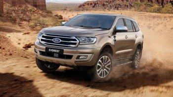 Ford Everest 2019 bán ra từ cuối năm 2018