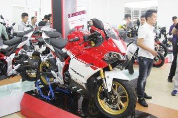 Khai trương showroom môtô Thái Lan GPX Racing đầu tiên tại Sài Gòn