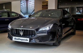 Maserati Quattroporte GTS Nerissimo duy nhất tại Việt Nam